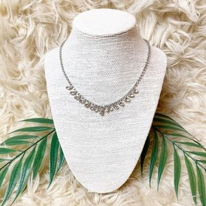 Vintage Rhinestone Glam Necklace
